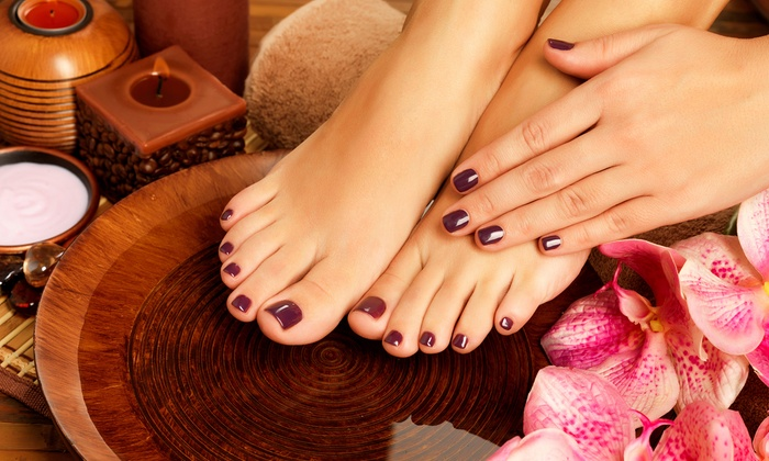 New Image Salon - Grapevine: Manicures and Pedicures at New Image Salon (Up to 53% Off). Four Options Available.