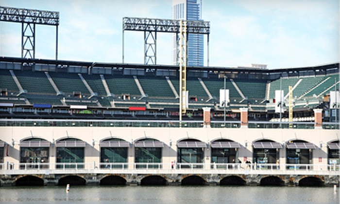 Hornblower Cruises & Events - The Embarcadero: $120 for a Game 6 Cruise Near McCovey Cove with Dinner and Drinks from Hornblower Cruises & Events ($199 Value)