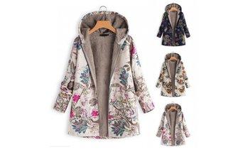 buy online 48a18 d6ed2 image placeholder Women s Floral Print Coat