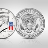 Set of 2 50th Anniversary Kennedy Half-Dollar Coins