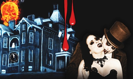 Admission for Two to Haunted Graham Mansion (50% Off). Two Options Available.
