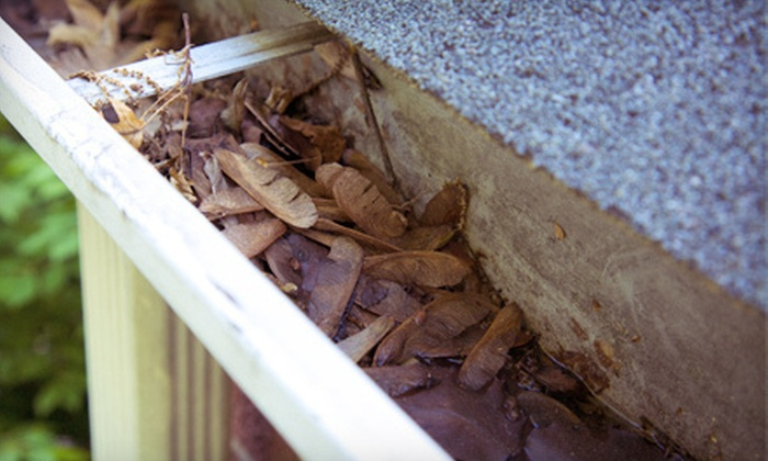 KAT Construction, LLC - Multiple Locations: $59 for Full-House Gutter Cleaning from Kat Construction, LLC ($150 Value)