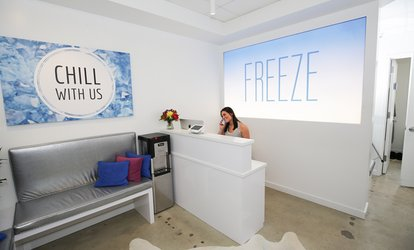image for Cryotherapy Sessions and Cryo-Facial Treatments at Freeze Cryotherapy (Up to 62% Off). Five Options Available