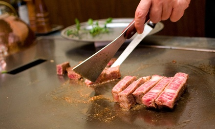 $12 for $20 Worth of Sushi Bar or $15 for $30 Worth of Japanese Hibachi Dinner for Two or More at Fuji Steak House