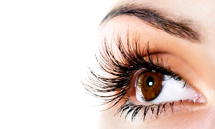 Full 60-Lash Set of Mink Eyelash Extensions with Option for Refill at Celebrity Lash Boutique (Up to 70% Off)