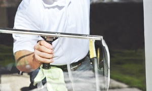 Ellis Property Services, LLC: Window Cleaning with Hard-Water Treatment from Ellis Property Services (Up to 57% Off). Two Options Available.