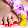 Half Off Gel Polish, Pedicure, or Both