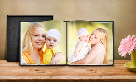 Customizable Hardcover Leather Photo Books from Printerpix. 8