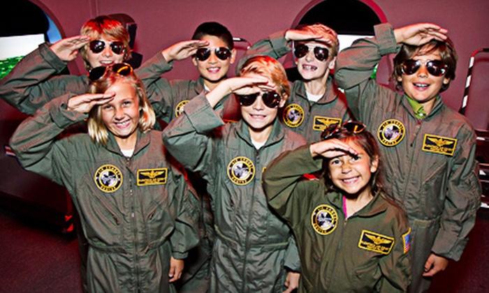 Flightdeck Simulation Center - Anaheim: $139 for a Two-Hour Top Gun Flight-Simulator Birthday Party for Up to 12 at Flightdeck Simulation Center ($295 Value)