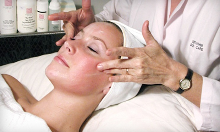 Seraphim Skin Care - Lindbergh - Morosgo: Facial or Spa Day or Night for Two with Facials, Reflexology, and Makeovers at Seraphim Skin Care (Up to 62% Off)