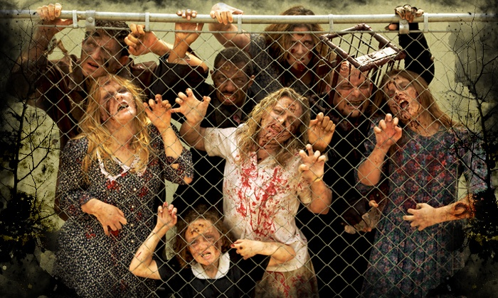 Zombie Manor - Southwest Arlington: Two Fast-Pass Tickets to Zombie Manor (Up to 36% Off). 12 Date Available.