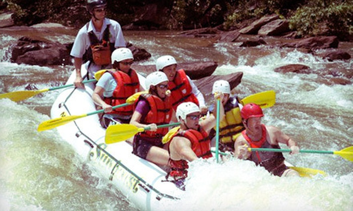 Sunburst Adventures  - Benton: Half-Day Whitewater-Rafting Excursion on a Weekday or a Saturday from Sunburst Adventures in Benton (Up to 53% Off)