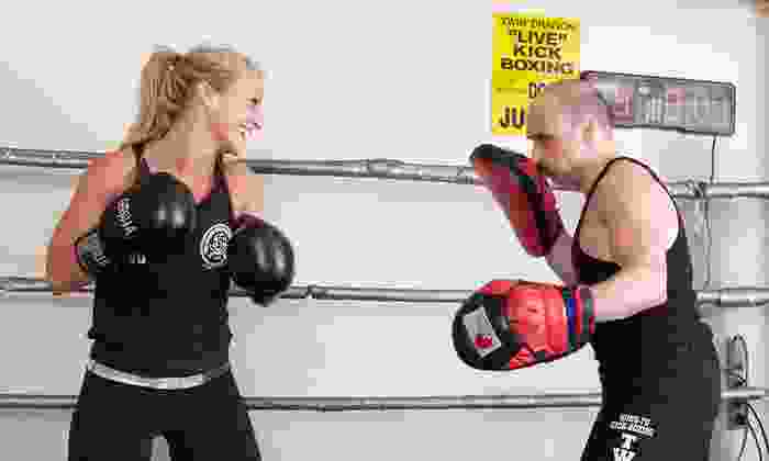 Twin Dragon North - Willowdale: 10 or 20 Drop-In Kickboxing Classes at Twin Dragon North (Up to 82% Off)