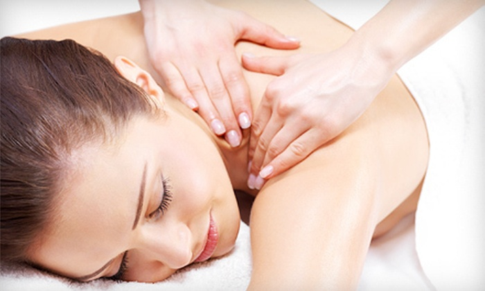 Kathy Sisk at Polished Salon and Spa - East Louisville: $35 for a 60-Minute Massage with Hot-Stone Shoulder Treatment from Kathy Sisk at Polished Salon and Spa ($70 Value)
