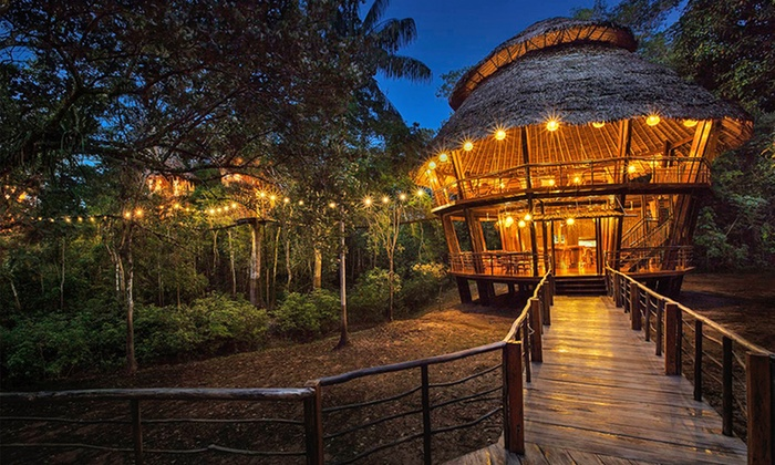 Treehouse Lodge - Peru: 2-, 3-, or 4-Night Stay for Two in a Bungalow with Meals, Excursions, and Airport Transfers at Treehouse Lodge in Peru