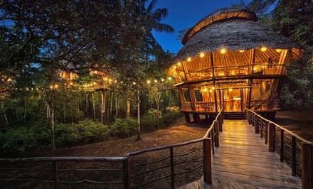 Groupon Deal: 2-, 3-, or 4-Night Stay for Two in a Bungalow with Meals, Excursions, and Airport Transfers at Treehouse Lodge in Peru