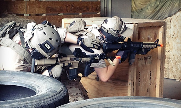 Valhalla Indoor Airsoft - Robinson: Six-Hour Airsoft Packages for Two or Four at Valhalla Indoor Airsoft (Half Off)