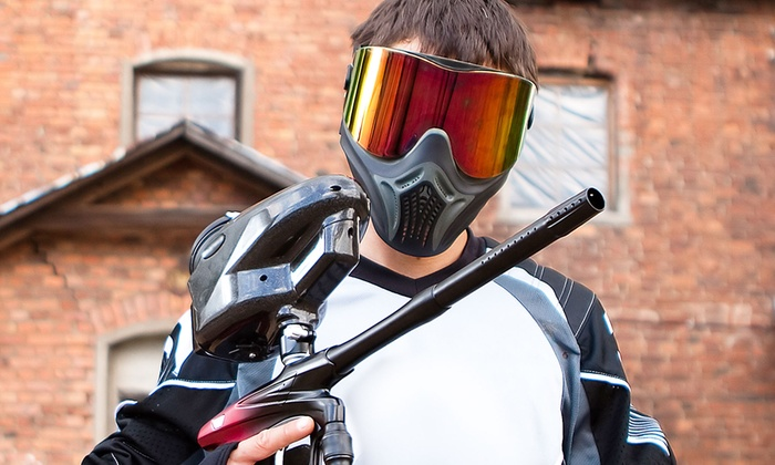 Operation Paintball - Graham: All-Day Paintball with Marker and Mask Rental for Two or Four at Operation Paintball (Up to 55% Off)