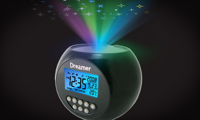 Dreamer Starlight Projector Clock: $17.99 for a Dreamer Starlight Projector Clock ($39.99 List Price). Free Shipping and Free Returns.
