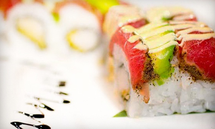 Fuji of Japan - Darien: Four-Course Japanese Dinner with Wine for Two or Four at Fuji of Japan in Darien (Up to 56% Off)