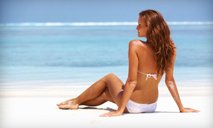 Spray of Sunshine - Plainfield: One Mystic HD or One Spray Tan at Spray of Sunshine (Up to 52% Off)
