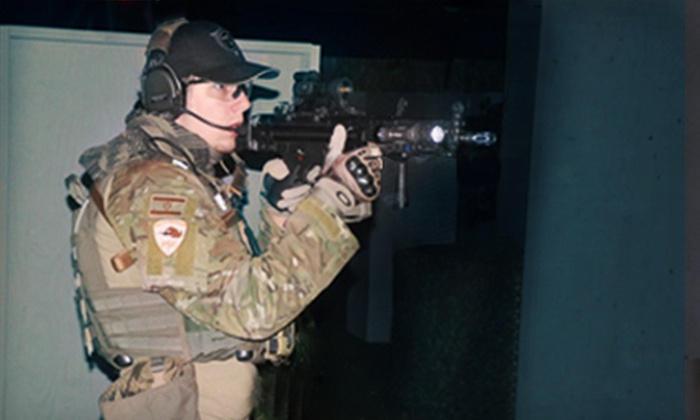 Tac-Ops Indoor Airsoft - Parkrose: $7 for Three Airsoft Missions with Equipment and 200 BBs at Tac-Ops Indoor Airsoft ($15 Value)