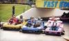 Fast Eddies Fun Center  - Pensacola: $20 for a Family Fun-Center Package for Four at Fast Eddies Fun Center ($41.17 Value)