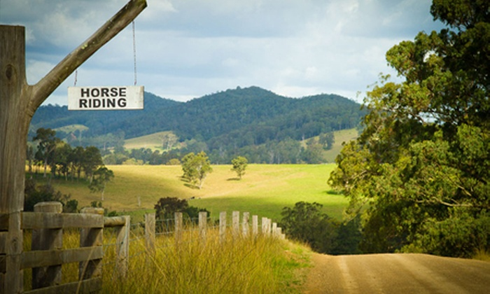 Riverwood Downs - Monkerai: Barrington Tops: From $299 for a Two-Night Country Getaway with Wine and Horse Riding at Riverwood Downs