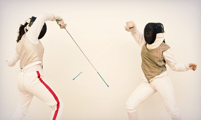 Wilton Fencing Academy - Wilton: Five Introductory-Level Group Fencing or Performing-Arts Classes at Wilton Fencing Academy (Up to 67% Off)