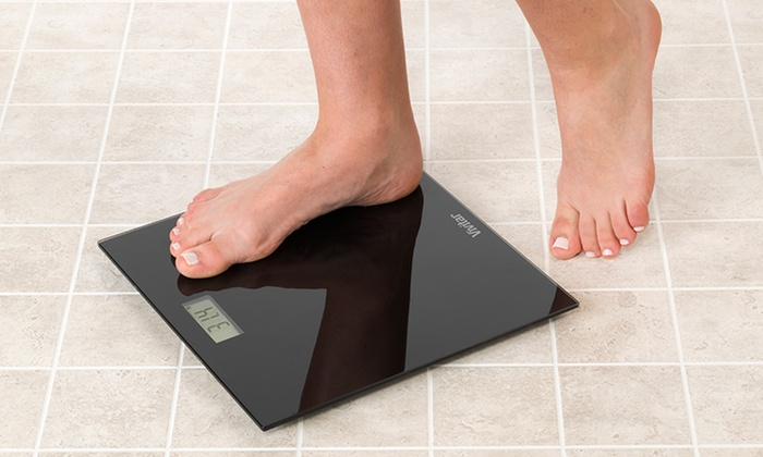 Vivitar Body Pro Digital Bath Scale: Vivitar Body Pro Digital LCD Bathroom Scale