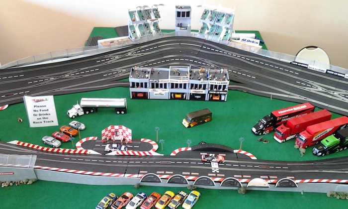 Races2U - The Hub Shopping Center: 1-Hour of Mini Slot Car Racing for Two or Four, or 2-Hour Slot-Car Party for Up to 18 at Races2U (Up to 54% Off)