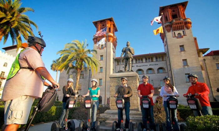 St. Augustine Bike Rentals - Flagler's Model Land: Segway, Bike, or Pedicab Tour for Two or a Scooter Rental for Two from St. Augustine Bike Rentals (Up to 51% Off)