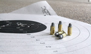 American Heritage Gun Range: Year Membership with Unlimited Firearm Rentals for a Person or Family at American Heritage Gun Range (22% Off)