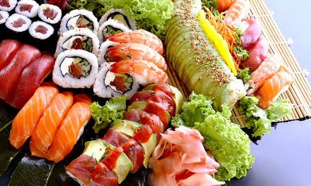 Sushi and Japanese Food at Mizu Japanese Sushi Restaurant (50% Off). Two Options Available.