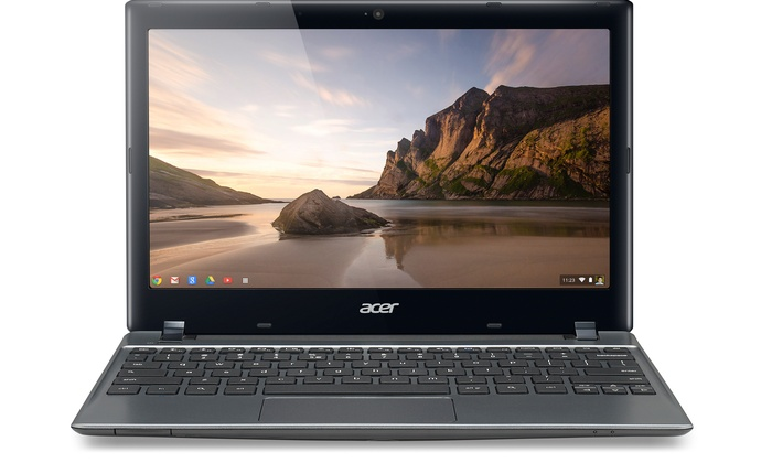 """Acer 11.6"""" Chromebooks with 16GB SSD: Acer 11.6"""" Chromebooks C710-2833 or C710-2856 with 16GB SSD and 2GB RAM (Refurbished). Free Returns."""