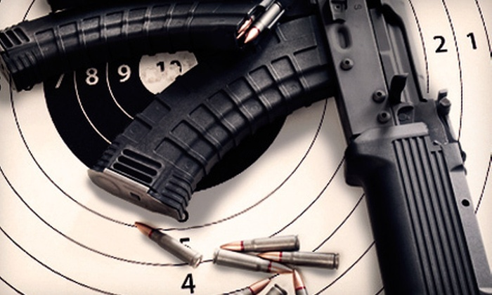 Battlefield Las Vegas - Winchester: Shooting-Range Visit with Colt M4 Carbine, AK-47, and Ammo for One or Two at Battlefield Las Vegas (Up to 53% Off)
