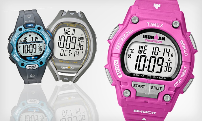 Timex Men's and Women's Ironman Watches: Timex Men's and Women's Ironman Watches (Up to 63% Off). 23 Options Available.