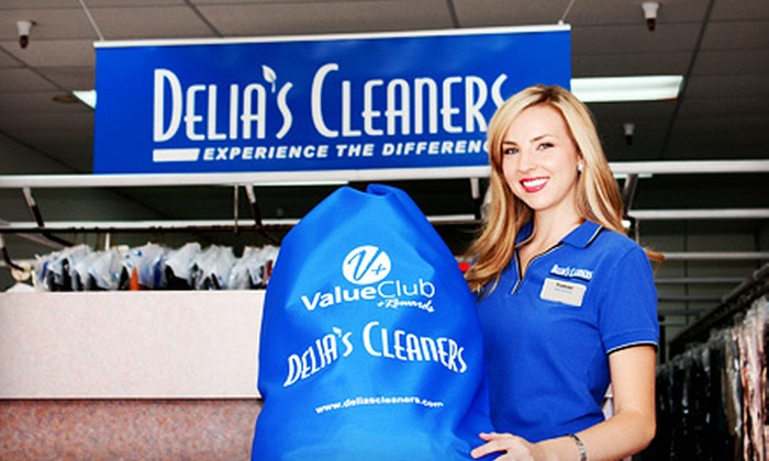 Delia's Cleaners - Multiple Locations: $10 for $25 Worth of Dry Cleaning from Delia's Cleaners