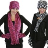 2-Pack of Women's Hat, Gloves, and Scarf Sets