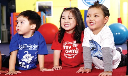 Children's Gym Classes, Open Play, and Summer Camp at My Gym (Up to 67% Off)