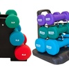 6-Piece Dumbbell Set with Stand