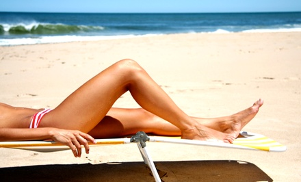 Spray or UV Tans at Results Tanning & Nutrition (Up to 70% Off). Four Options Available.