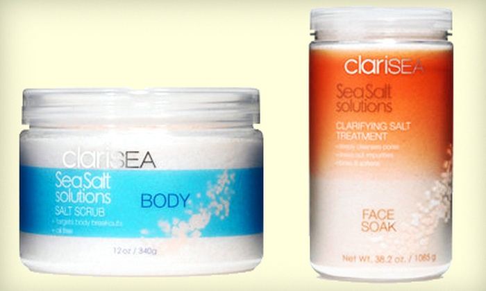 Clarisea: Ocean-Sourced Skincare Products from Clarisea (Up to 55% Off). Two Options Available.