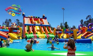 Water Wild Inflatable Fun Park: Day Pass for One ($15), Two ($29) or Four People ($55) to Water Wild Inflatable Fun Park (Up to $88 Value)