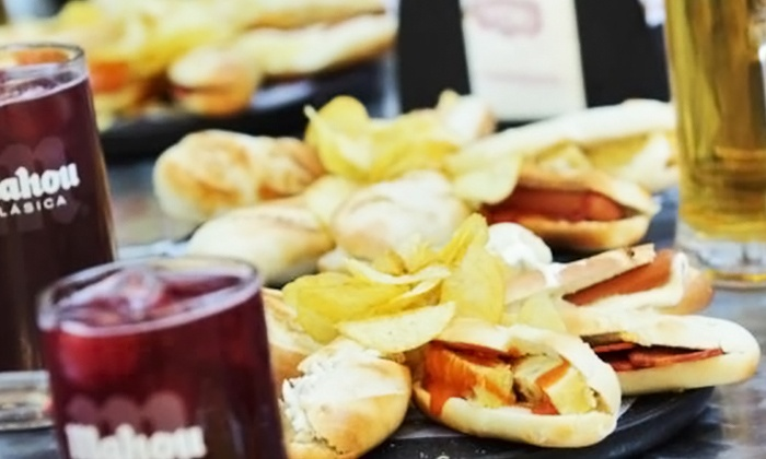 100 Montaditos - West Palm Beach: Authentic Spanish Tapas, Sangria, Wine, and Beer at 100 Montaditos (Up to 44%). Four Options Available.