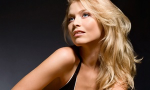 D's Glamor Salon: Keratin Treatment and Haircut with Optional Color at D's Glamor Salon (Up to 51% Off)