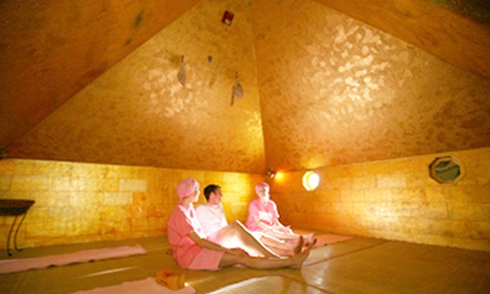 King Spa Fitness - Palisades Park: 24-Hour Korean-Spa Admission for One or Two at King Spa Fitness (Up to 56% Off)