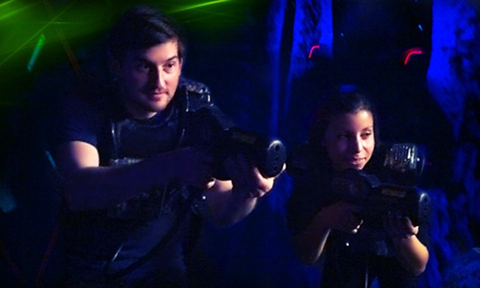 Battle Recon Mobil Laser Tag - Sacramento: Two- or Four-Hour On-Location Party for Up to 10 from Battle Recon Mobile Laser Tag (Up to 64% Off)