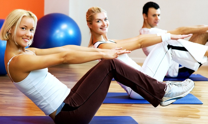 Pendleton Pilates - Multiple Locations: 5 or 10 Mat or Ball Pilates Classes at Pendleton Pilates (Up to 51% Off)