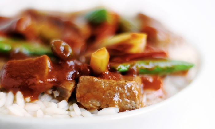 China 3 - Southwest Orange: Halal Chinese and Indo-Pak Food for Two or Four or Delivery or Take-Out at China 3 (Up to 46% Off)